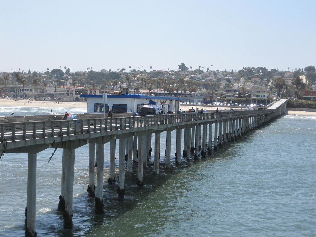 Ocean beach fishing pier san diego 6 2 10 the pier is for Oceanic fishing pier