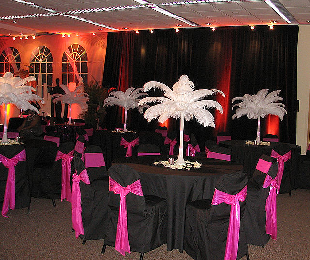 Ostrich Feather Decoration Ideas