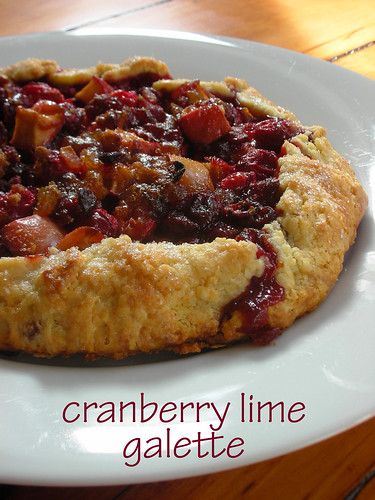 cranberry lime galette | by awhiskandaspoon