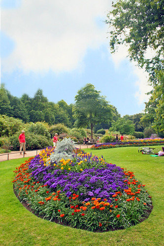 Flower Garden - Hyde Park | by jiformales (yajo) - super busy ....