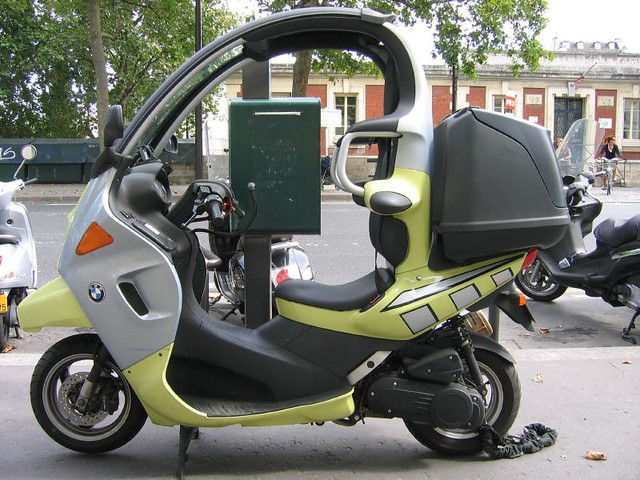 Bmw C1 Scooter A Scooter Or A Two Wheeled Car Not At