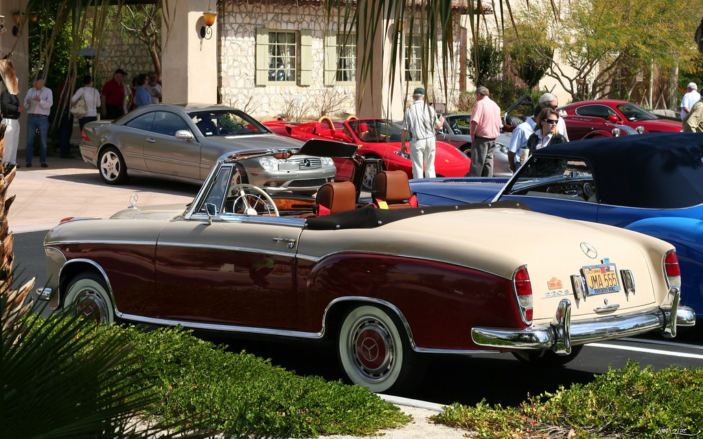 1956 mercedes benz 220s cabriolet rvl1 palm springs for Mercedes benz palm desert