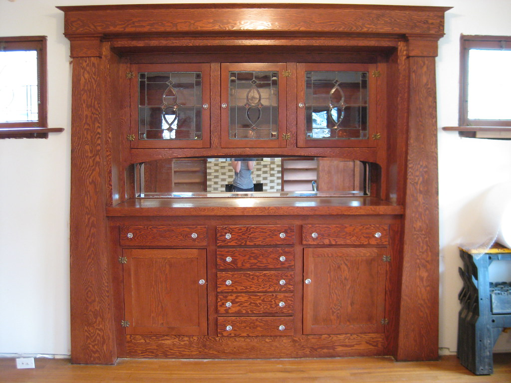 Built In China Cabinet In Kitchen