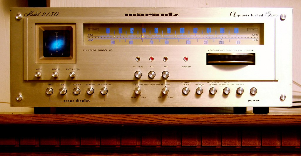 H And S Tuner >> Marantz 2130 Tuner | This is one of the finest FM tuners I h… | Flickr