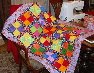 Scrappy Quilt for Ireland | by Sarah quilts!