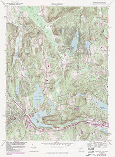 Brewster Quadrangle 1984 - USGS Topographic 1:24,000 | by uconnlibrariesmagic