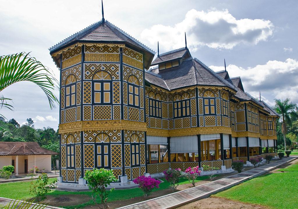 Royal museum kuala kangsar perak the building