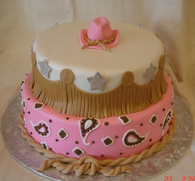 Cowgirl Sheet Cake Ideas