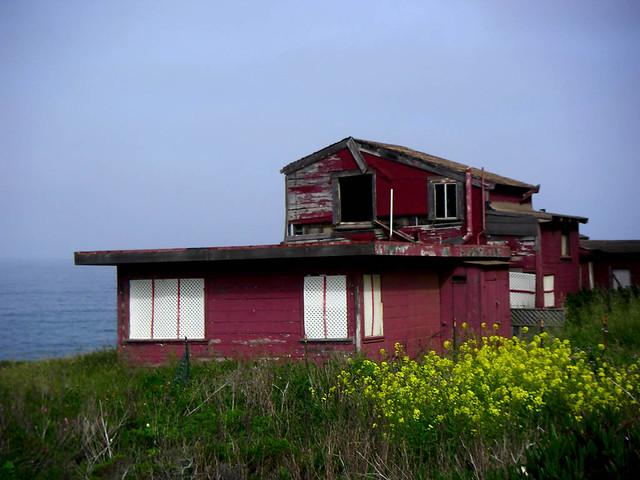 Abandoned Beach House California