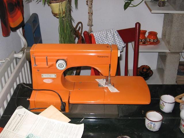 orange viking sewing machine 1 best sewing machine eve flickr. Black Bedroom Furniture Sets. Home Design Ideas