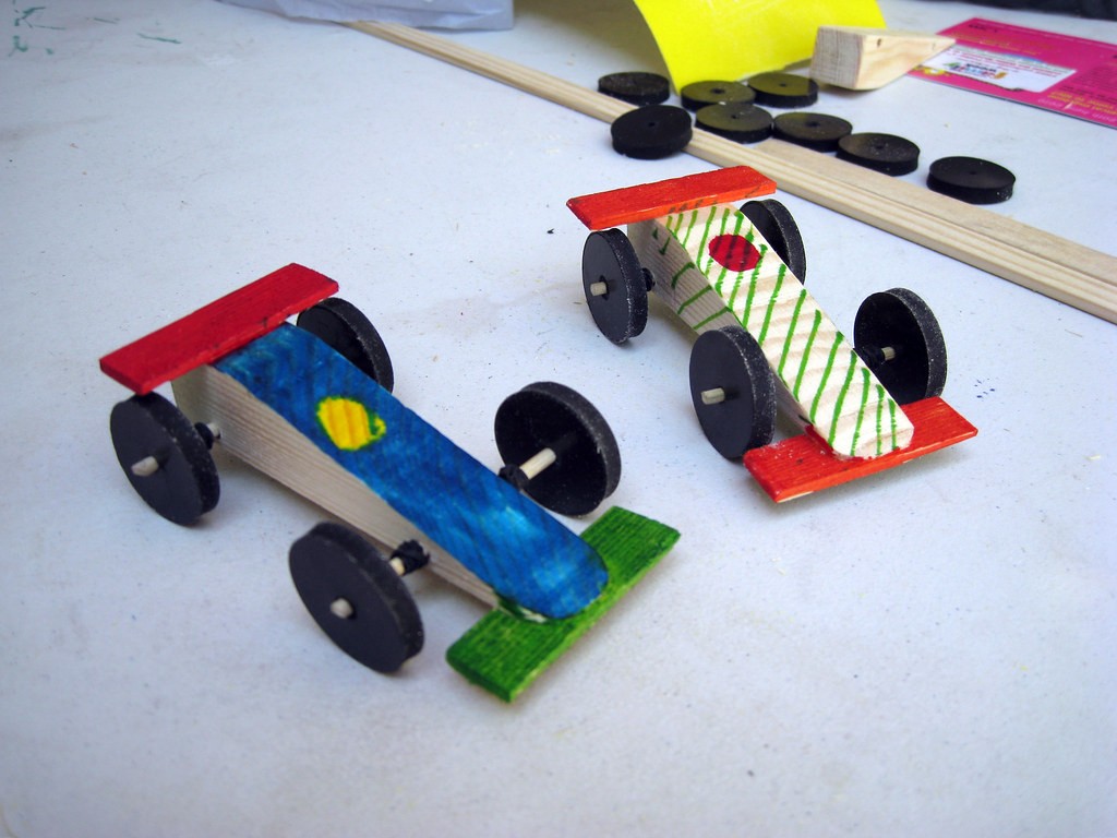 Craft Racing Car