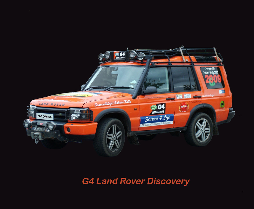Land Rover Discovery >> G4 Disco   2003 G4 Land Rover Discovery II V8 3948cc petrol …   Flickr