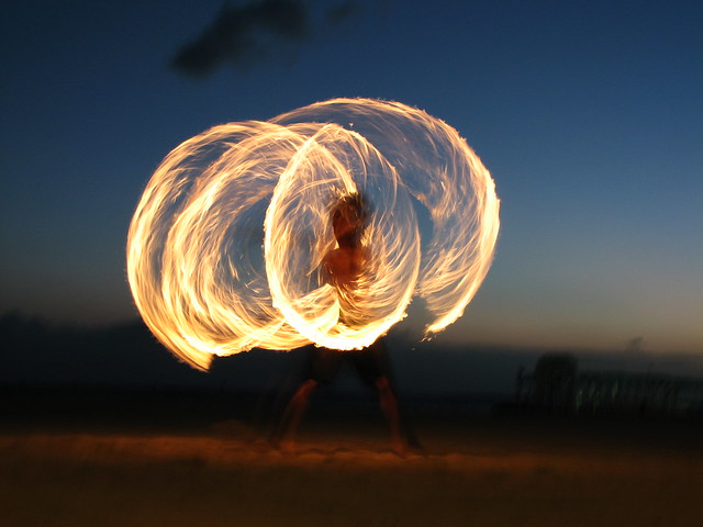Hawaii Fire Dancer