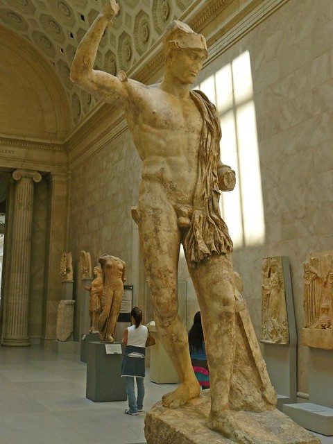 Marble Statue Of A Wounded Warrior Roman Antonine Period 1
