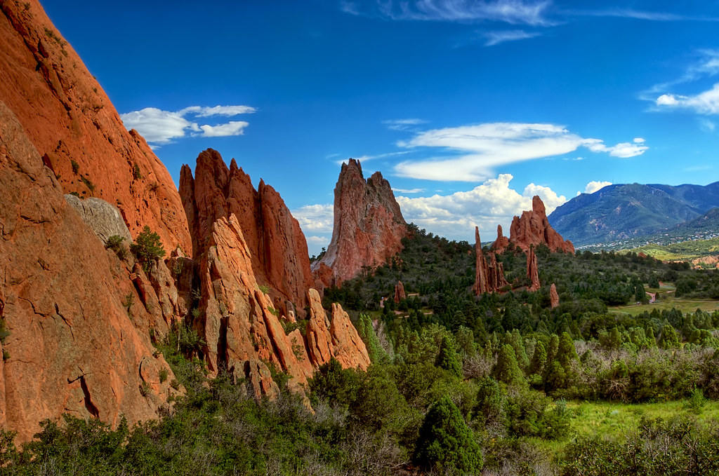 Garden of the golly view large on black garden of the gods flickr for Garden of the gods colorado springs
