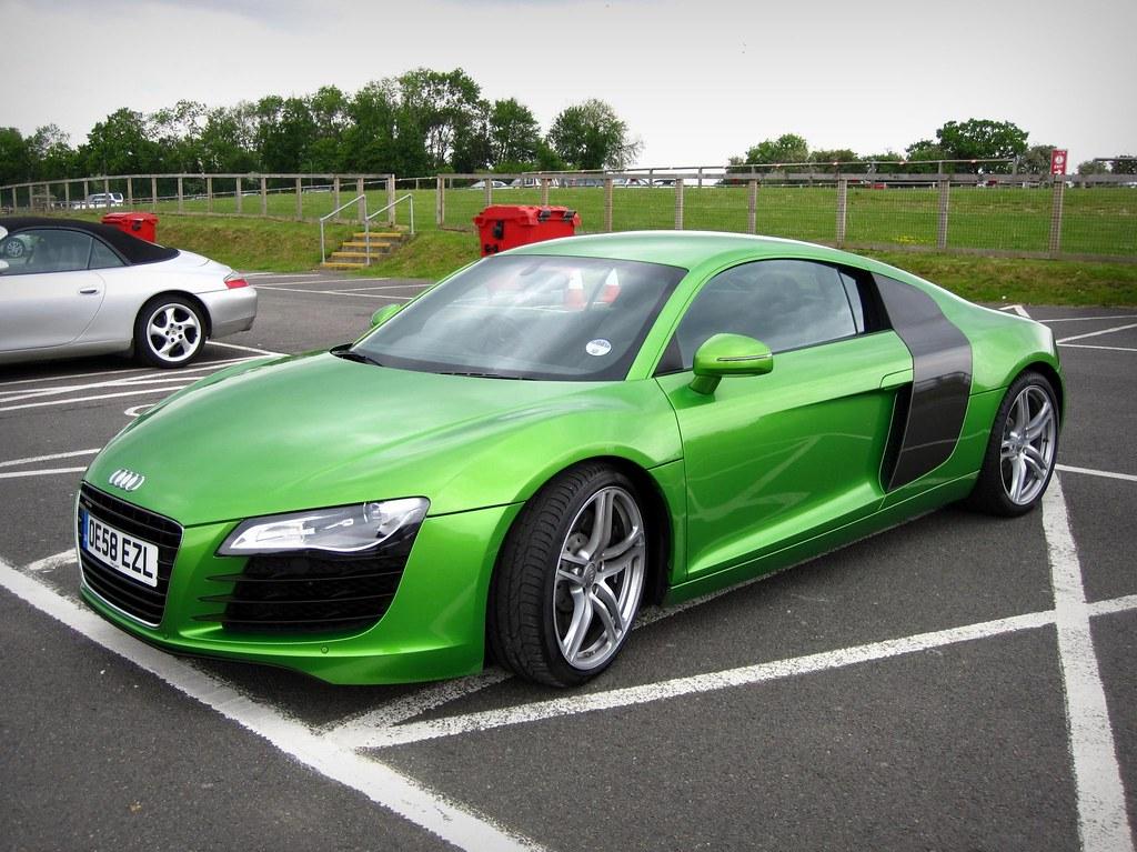 Greener Than A Green Thing Java Green Audi R8 Audi R8