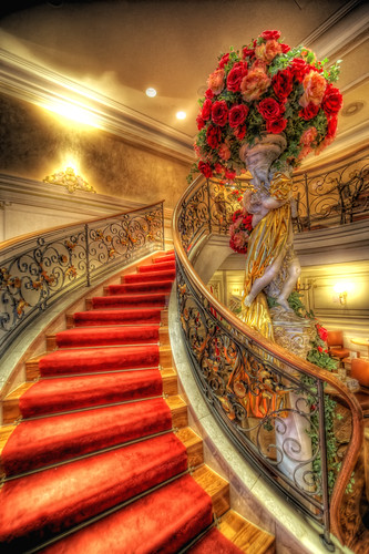 The Red Stairway (HDR) [Explored] | by Nik-On!