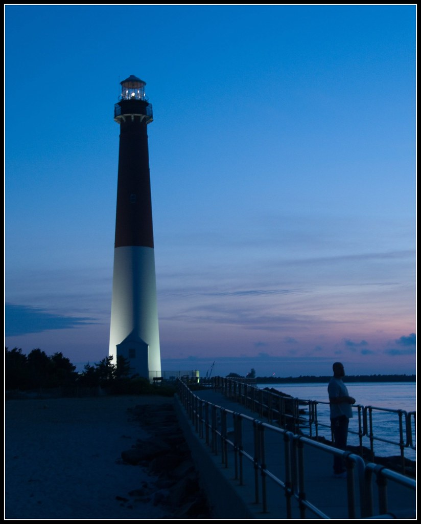Island Beach State Park Nj: Evening, Barnegat Lighthouse