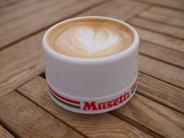 Musetti for Musetti coffee