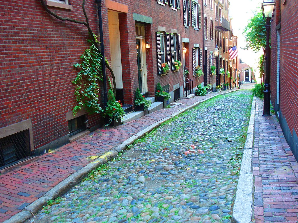 Acorn Street In Beacon Hill Bostonma This Street Is