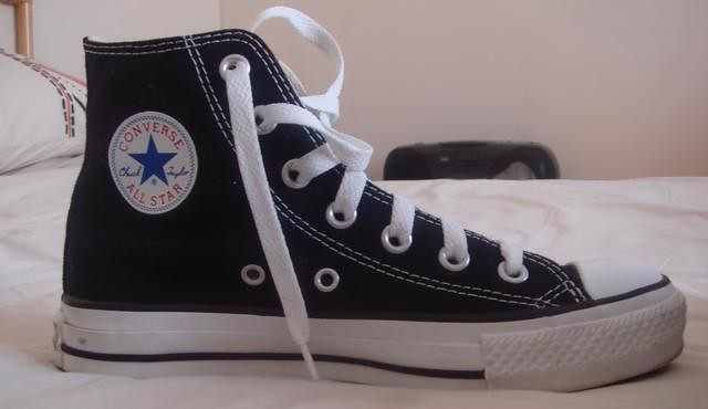 Pair Of Converse Tennis Shoes