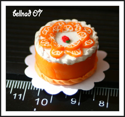 miniature: orange cake | by bellnad