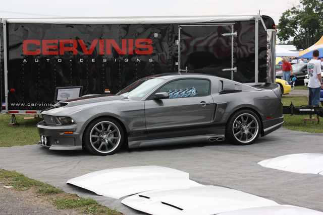 Cervini Mustang Cervini Mustang At The 2010 Carlisle All