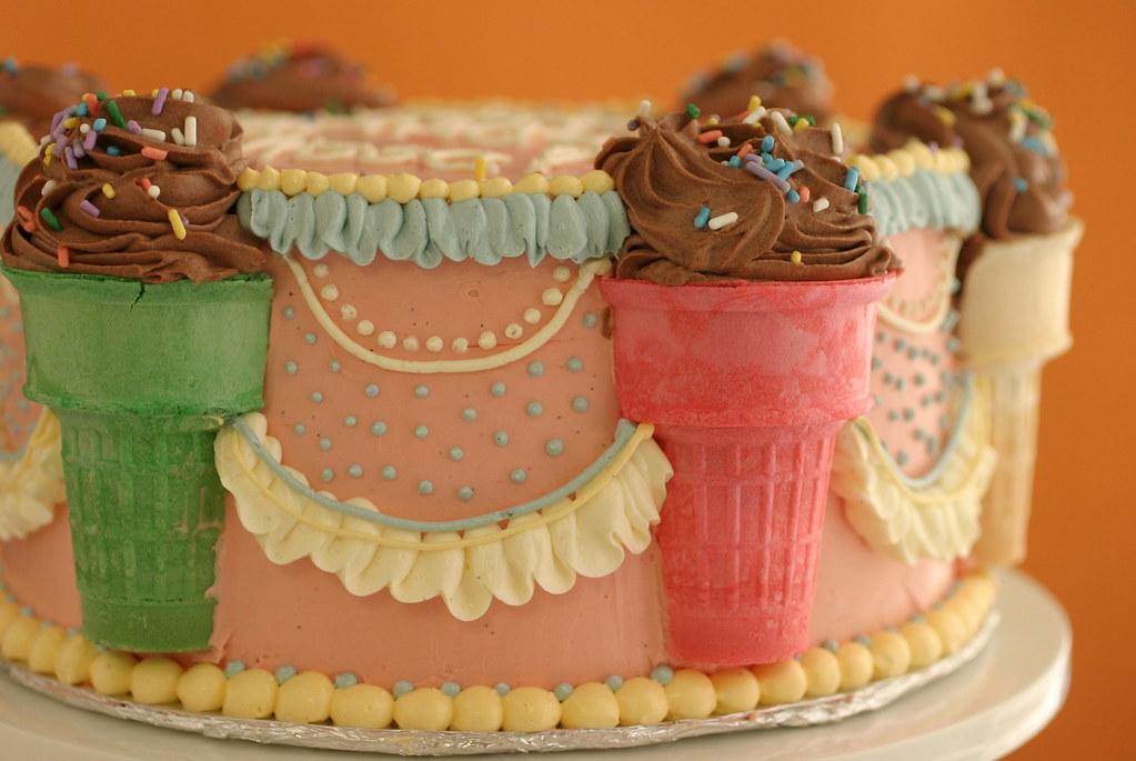 Elissas Birthday Cake Happy Birthday Elissa For Her Bir Flickr