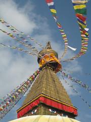 Tibetan Bodnath Stupa by SanVanDijk