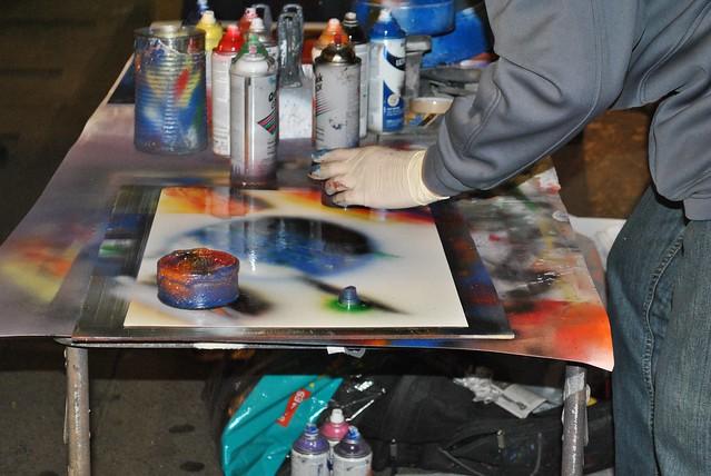 spray paint new york street artist flickr photo sharing. Black Bedroom Furniture Sets. Home Design Ideas