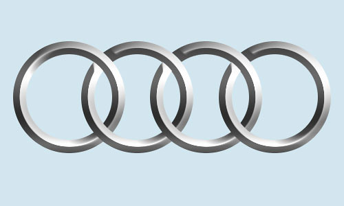 Audi Logo Rings A Logo I Made In Photoshop F C Flickr