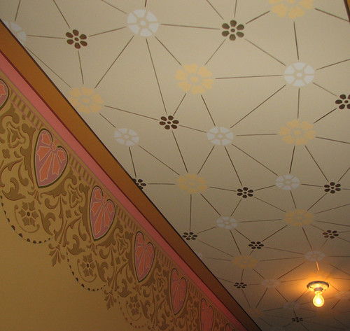 Hall Wall And Ceiling Stencil