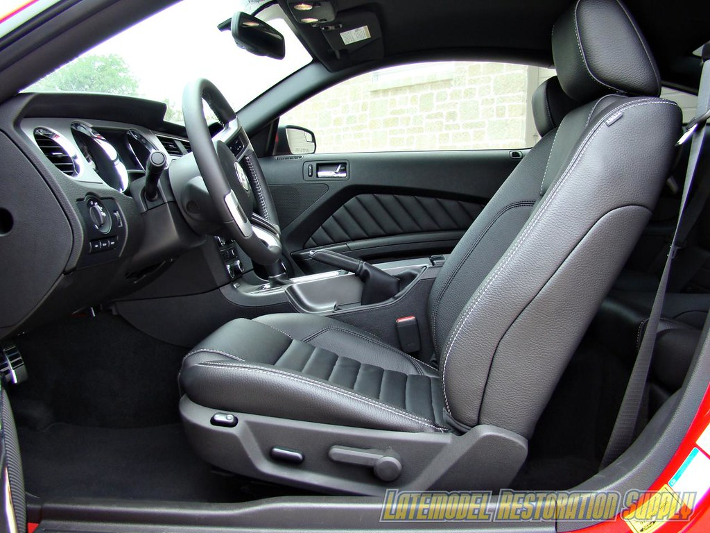 Red 2011 Ford Mustang Gt 5 0l With Black Leather Interior Flickr