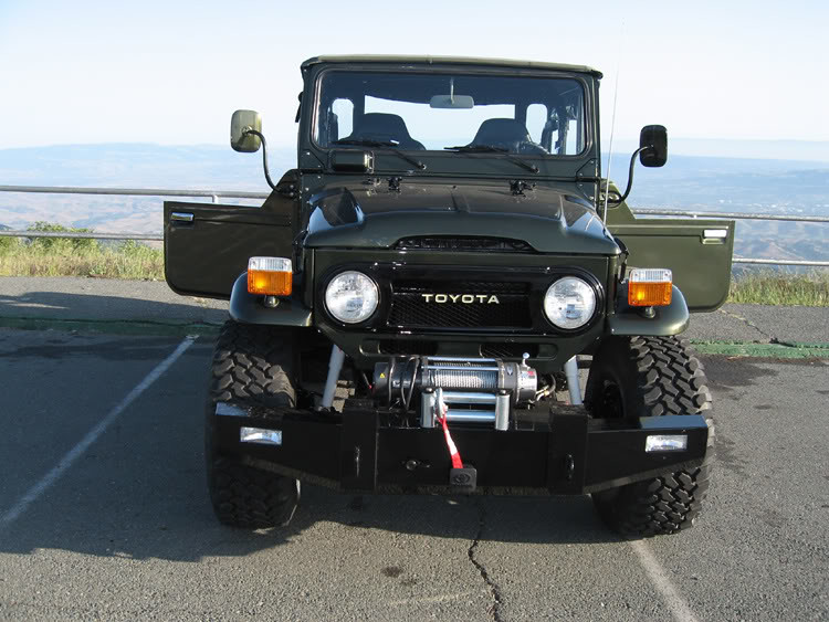 Toyota Fj40 A Lovely Restoration Job Wapster Flickr