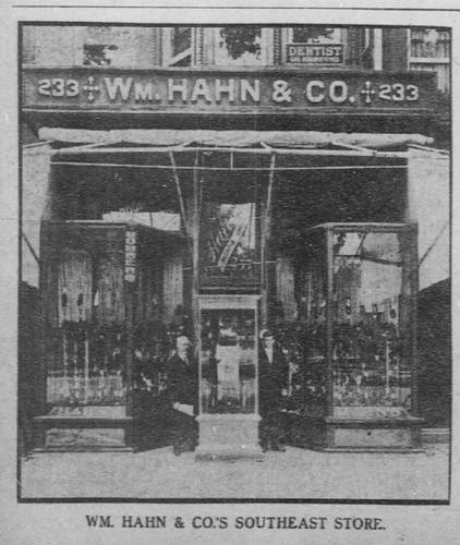 Hahn Shoe Store Washington Dc