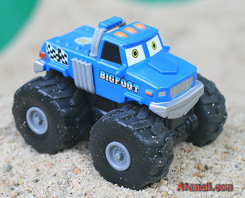 bigfoot meteor monster trucks diecast toy flickr photo. Black Bedroom Furniture Sets. Home Design Ideas
