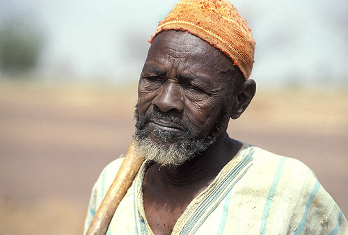 Portrait of elderly man. Burkina Faso | by World Bank Photo Collection