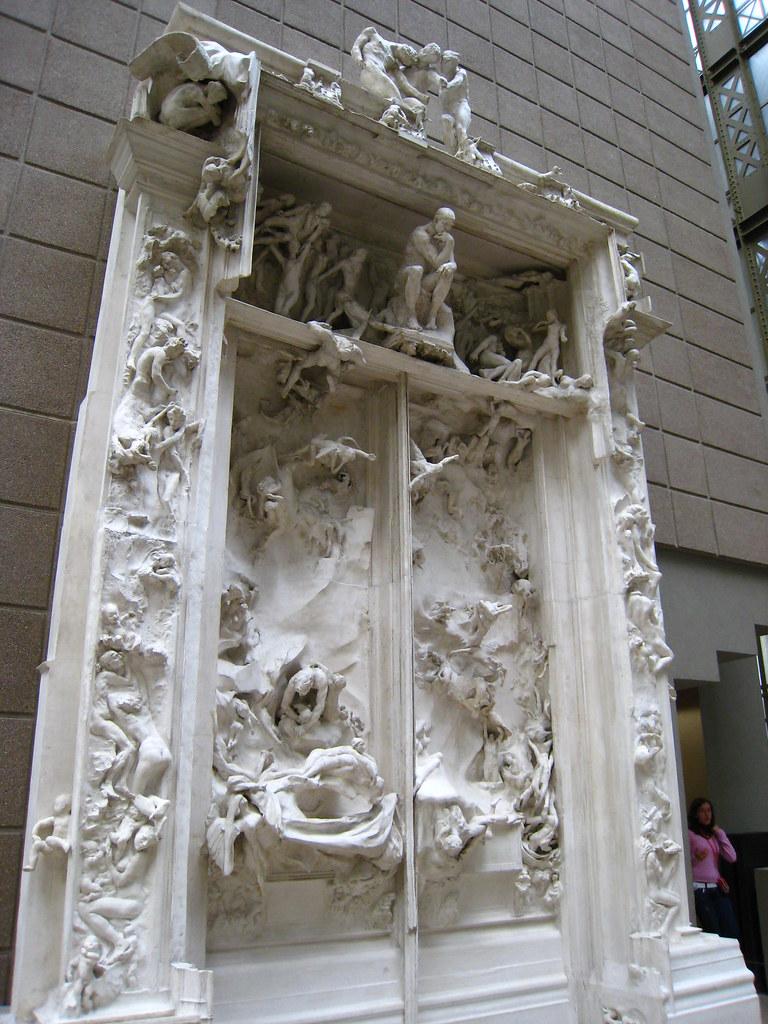 Puerta del infierno de rodin en el museo d orsay for 9 puertas del infierno