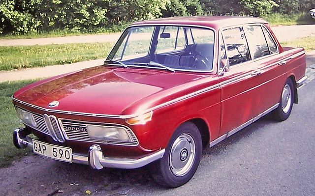 Bmw 2000ti This Is A 1968 Bmw 2000ti The Forerunner