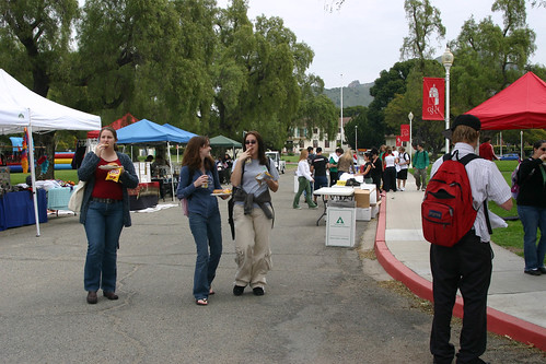 Students enjoying Dolphin Days | by California State University Channel Islands