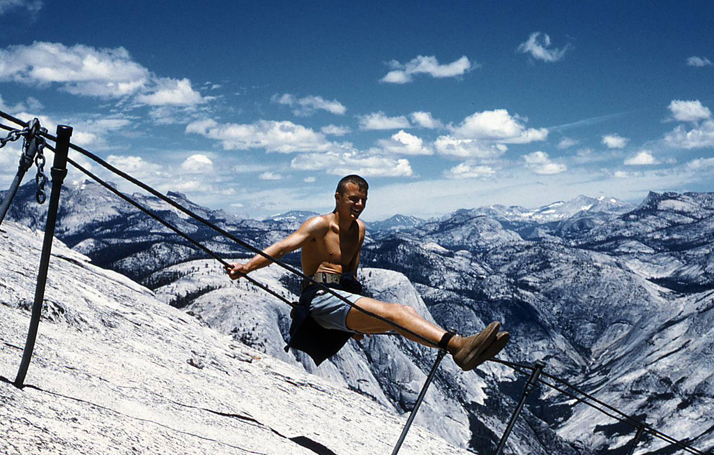 Half Dome Cables 1962 The Climb Wasn T So Steep At