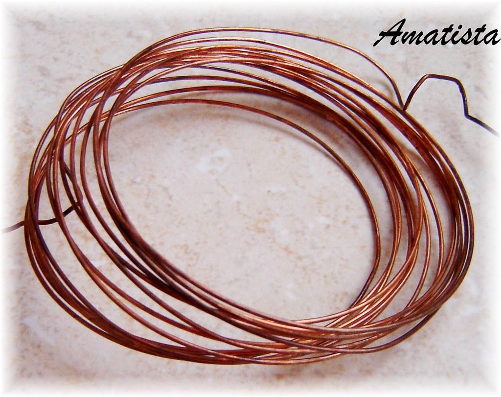 Cobre envejecido alambre de cobre de 1mm gracias a - Alambre de cobre ...