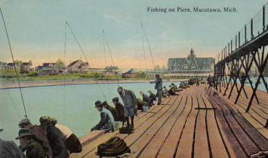 Michigan fishing macatawa pier michigan fishing macatawa for Harrison fishing pier