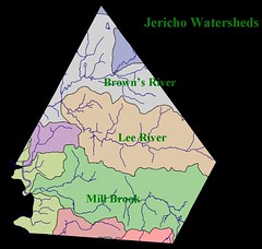 Jericho's Watersheds | by placeuvm