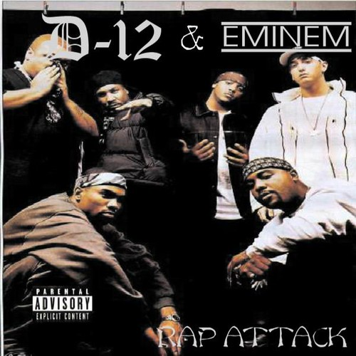 D12 And Eminem Rap Attack Front Br1hh Flickr