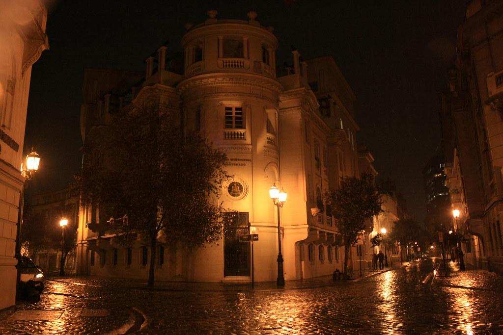 Calle londres paris santiago centro chile d a de for Calles de santiago de chile
