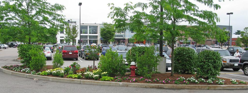 Derby Street Shoppes Parking Lot Landscaping Description Flickr