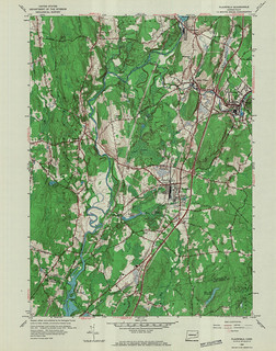 Plainfield Quadrangle 1953 - USGS Topographic Map 1:24,000 | by uconnlibrariesmagic
