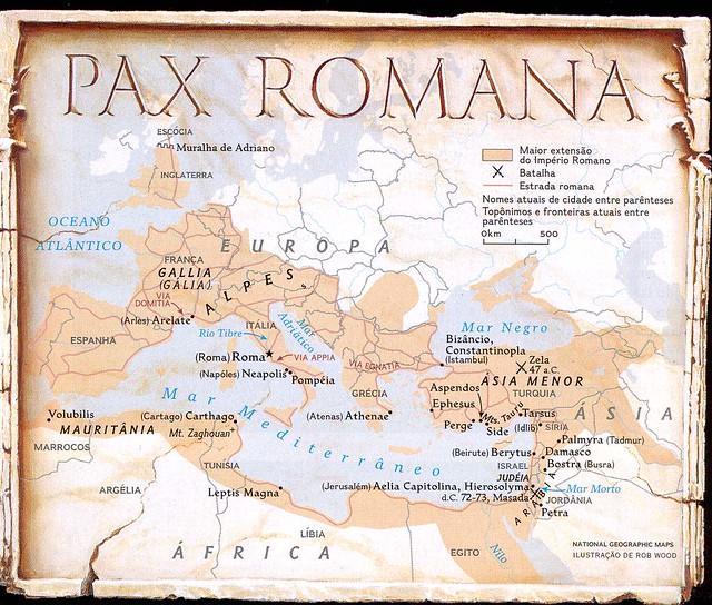 Pax Romana | Em sua ma...