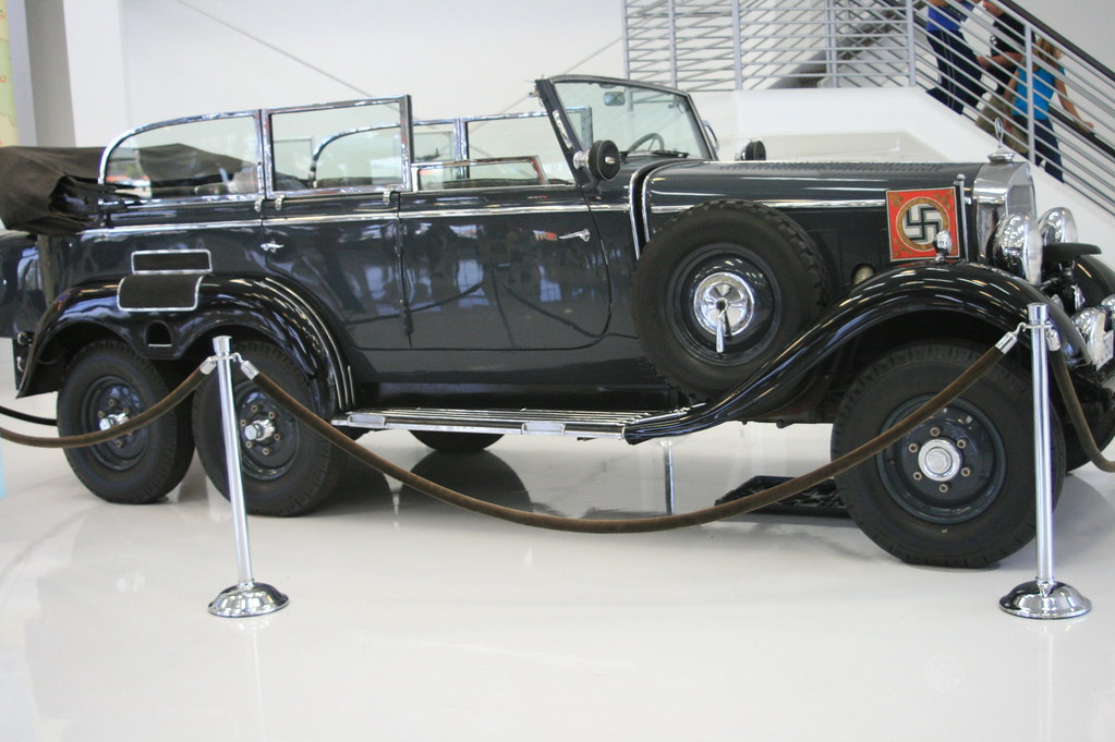 1939 Mercedes Benz Model G4 Offener Touring Wagon 57 Of